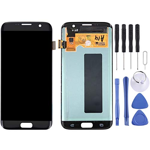 Glass LCD-scherm + Touch Panel For Galaxy S7 Edge / G9350 / G935F / G935A / G935V (zwart) Reparatie (Color : Blue)