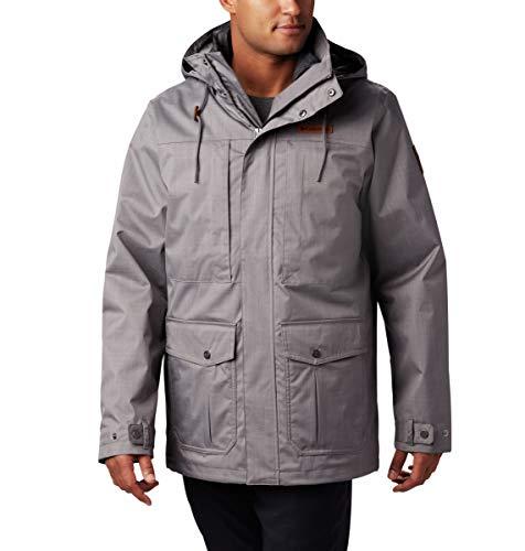 Columbia Men's Horizons Pine Interchange Jacket, City Grey, Large