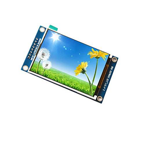 DollaTek 2.4 Zoll TFT SPI LCD-Modul ILI9341 Laufwerksfarbdisplay mit 8-poligem PCB-Bildschirm