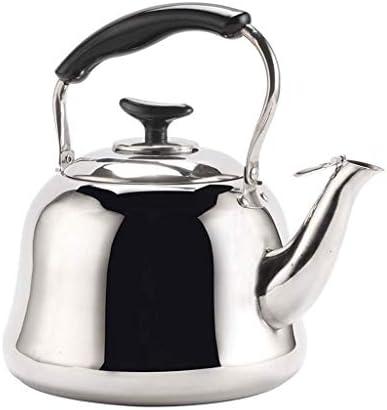 Stovetop Kettles RVS Ketel huishoudens Heat op Gas Cooker Gasfornuis Fluitketel Traditionele Theepot fluitketel met Matt Finish Tea Water Pot, waterkoker theepot peng (Size : 3l)