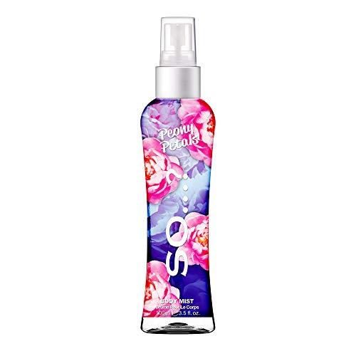 Body Mist By So…? Womens Peony Petals Body Mist Fragrance Spray 100ml