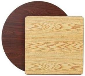 Royal Industries Rectangular Max Excellent 53% OFF Reversible Oak Wood grain Ta Walnut