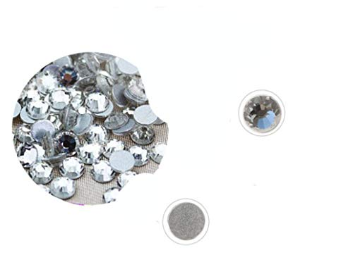 Non Hot fix Rhinestones top Quality SS3 to SS40 All Sizes AB/Clear Multi Colors Glass Crystal Stones for Clothes Decoration