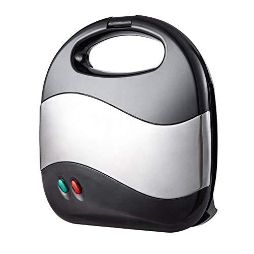 Torta de nuez eléctrica Make, Mini tuerca automática Máquina de pan de tuerca Sandwich Hierro Tostadora Horneado Pan horno Pan horno para cocina Actividad al aire libre