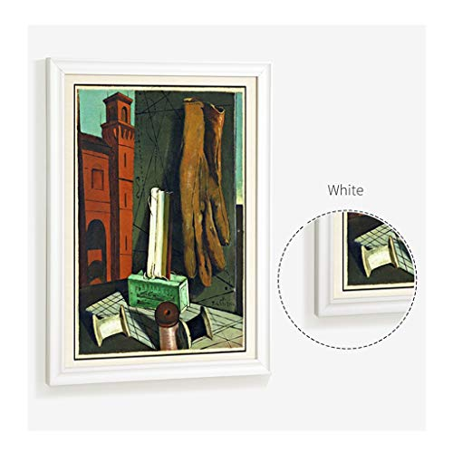 CHUAN YUAN-PHOTO A3 32 Zoll großen Fotorahmen Massivholz-Multi-Bild-Collage Kombinations-Bilderrahmen Wohnzimmerwanddekoration (Color : A, Size : 24inch)