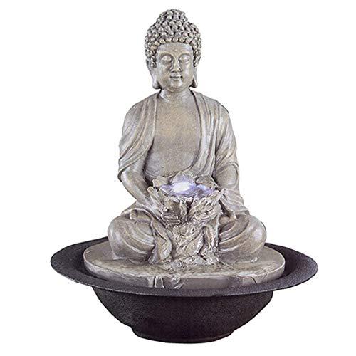 Darice Buddha Bowl Fountain: 11 inches