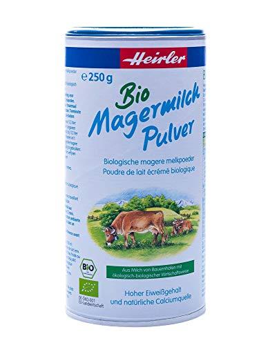 Heirler Bio Magermilchpulver, bio (12 x 250 gr)