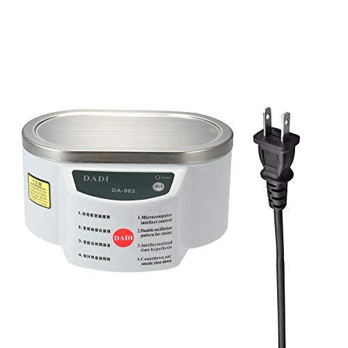 QWERTOUY ultrasone reiniger, digitale reiniger voor thuis, intelligente sieraden, brillenreiniger, 600 ml, badkamer, ultrasone reiniger, 30wand50 W