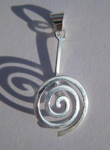 Donuthalter Spirale 925ger Silber für 30 mm Donuts ohne Donut