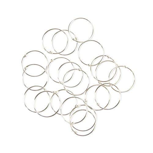 Pack of 20 VERY SMALL & EXTRA THIN 925 Sterling Silver Nose Rings size 8mm gauge 0.5mm