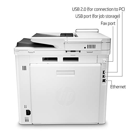 HP Color LaserJet Pro Multifunction M479fdn Laser Printer with One-Year, Next-Business Day, Onsite Warranty, Works with Alexa (W1A79A) – Built-in Ethernet Photo #3