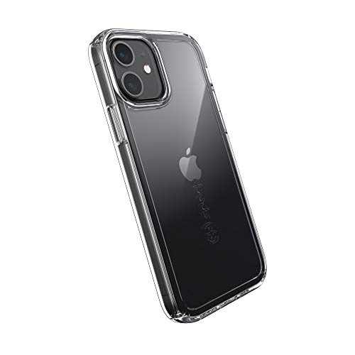 Speck Products GemShell iPhone 12, iPhone 12 Pro Case, Clear/Clear (137603-5085)