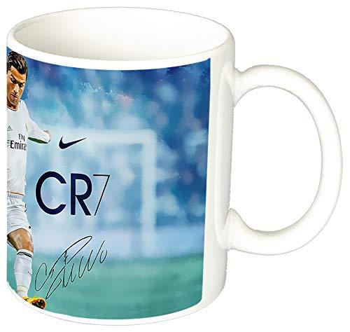 Cristiano Ronaldo Real Madrid CR7 C Taza Ceramica