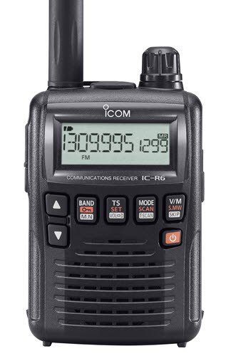 Best Aviation Handheld Radio IC-R6