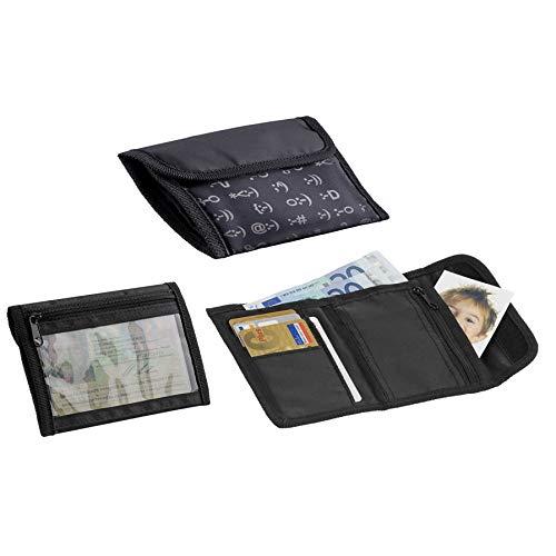 Geldbörse Brieftasche Portemonnaie Emoticons | Geschenk für Kinder | Männer | Frauen | Damen | Smilies | Emoji | Geld |
