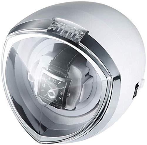 Cadeau horlogebeweger klokbeweging kabinet met LED-verlichting Automatische roterende mechanische klok winding Box elektrische rotatie 1 + 0 horlogebeweger turn tabel apparaat horlogebeweger