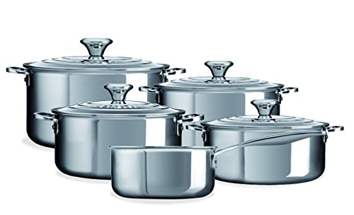 LE CREUSET Set, Stainless Steel, Acero Inoxidable, One Size