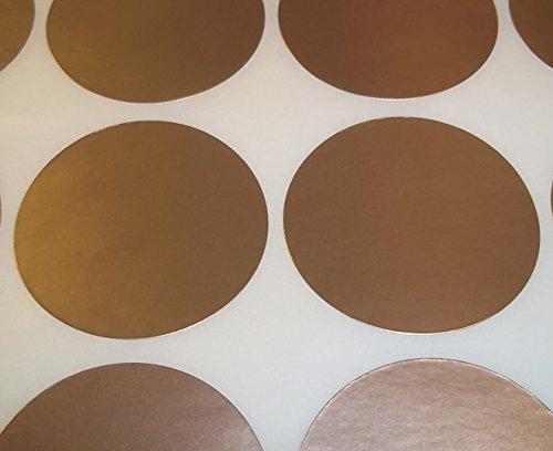 Audioprint Ltd. Paquete de 100 Redondo Color Código Lunares en Blanco Precio Pegatinas - Rosa Claro, 38mm