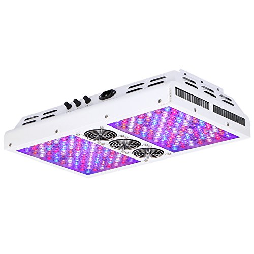 VIPARSPECTRA Dimmable PAR700 700W LED Grow Light, 3 Dimmers 12-Band Full Spectrum for Indoor Plants Veg Bloom
