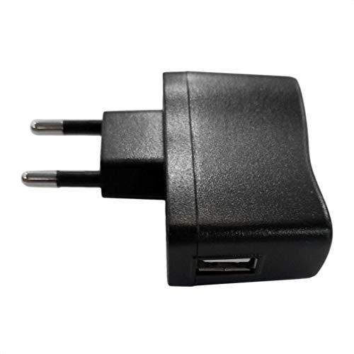 Bellaluee Adaptadores CA/CC Adaptador de Pared USB de 1 Pieza Cargador MP3...
