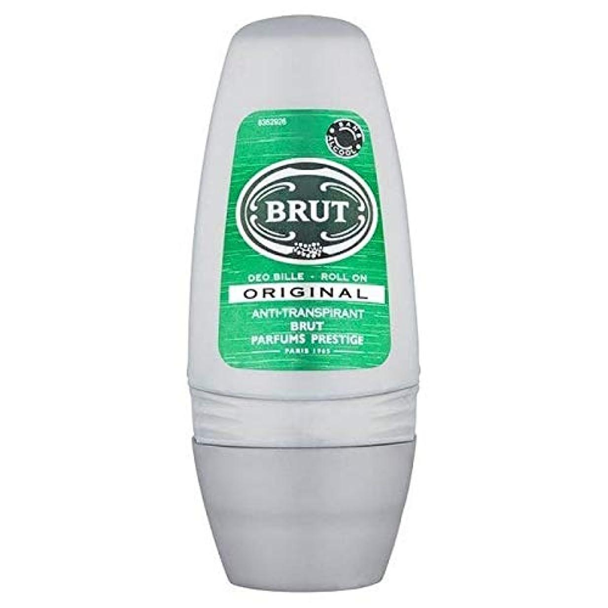 独裁者顕著補う[Brut ] 制汗デオドラント50ミリリットルのブリュットロール - Brut Roll On Anti-Perspirant Deodorant 50ml [並行輸入品]