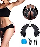 Abs Stimulator Electric Hips Trainer,Hip Trainer,Electronic Backside Muscle Toner, Smart Wearable Buttock Ab Stimulator for Men Women,Slimming Machine
