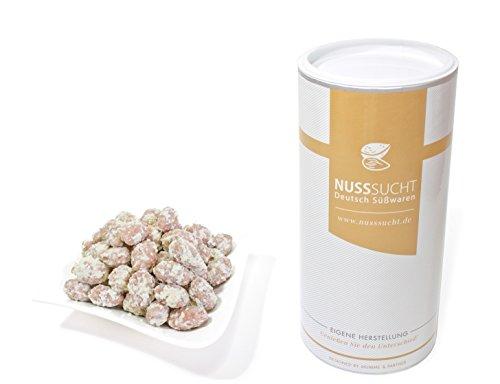 Gebrannte Mandeln mit Kokos und weißer Schokolade | Inhalt: 500g | ohne Zusatz- und Konservierungsstoffe | mit wenig Zucker