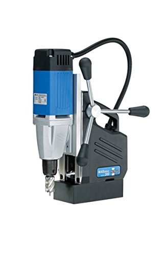 """CS Unitec MABasic 200 Portable Magnetic Drill Press: Drills up to 1-3/8"""" Diameter, up to 6-1/3"""" Depth of Cut, 900W, Best Power to Weight Ratio, Electronic Safety Shutoff"""