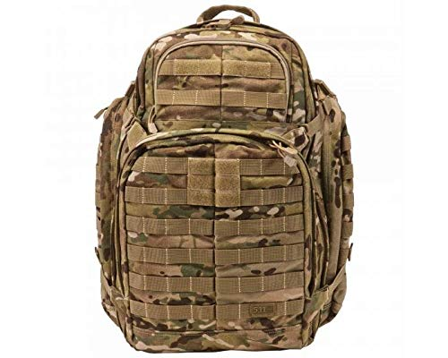 5.11 Tactical RUSH72 Military Backpack, MOLLE Bag Recksack Pack, 55 Liter Large, Style 59602