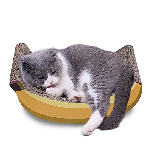JR Knight - Tiragraffi per gatti e gatti, riciclabile, in cartone ondulato, per la cura degli artigli, per dormire