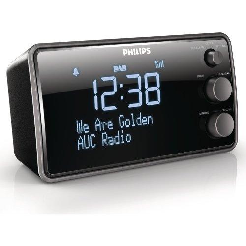 Philips AJB3552/12 Clockradio (DAB+, LCD-Display)