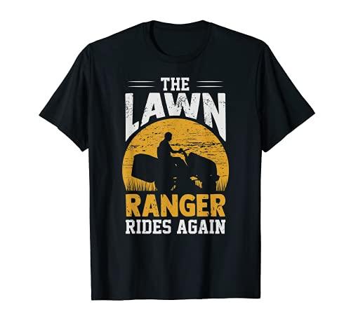 The Lawn Ranger Rides Again Landscaper...