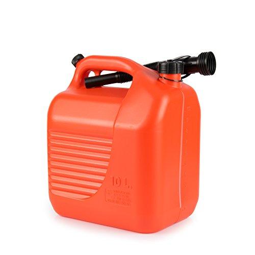 Benzin Kanister, Tankkanister, Kanister, Benzinkanister, Motorradtank, Autokanister, Sprit, 10 Liter, RACEFOXX
