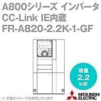 三菱電機(MITSUBISHI) FR-A820-2.2K-1-GF CC-Link IE内蔵インバータ 三相200V (容量:2.2kW) (FMタイプ) NN