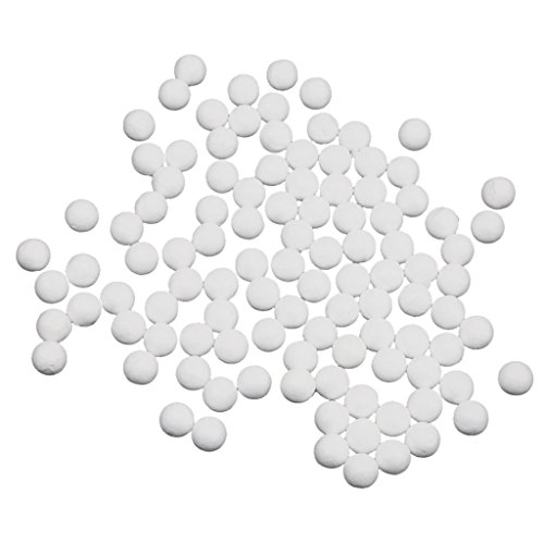 Imported 100pcs 25mm White Modelling Craft Polystyrene Foam Balls