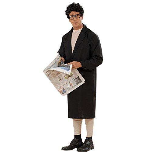 NET TOYS Manteau d'exhibitionniste Vieil Homme Nu L 54 Déguisement d'exhibitionniste pour Homme Enterrement de Vie de garçon Costume Nu pervers Costume Complet déguisement Rigolo Carnaval Adulte
