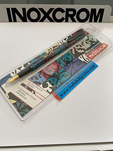 Inoxcrom pluma estilografica. nueva en blister