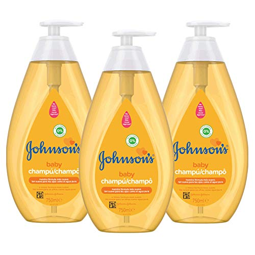 Johnson's Baby, shampoo - 3 stuks, (3x750 ml)