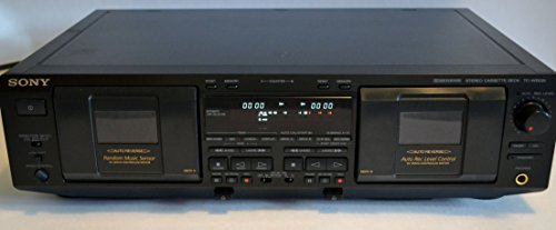 New Sony TC-WE635 Dual Cassette Deck (Discontinued by Manufacturer)