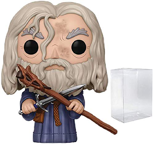 Funko Pop! Movies: The Lord of the Rings - Gandalf the Grey Vinyl Figure (Includes Compatible Pop Box Protector Case) image