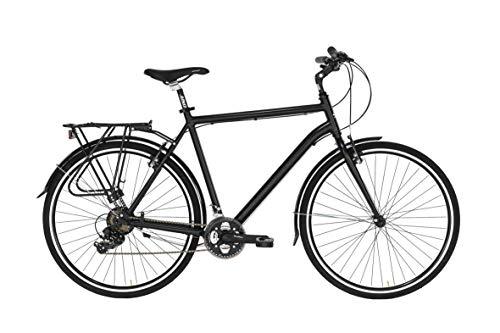 Bicicletta TOURING da uomo di Alpina con telaio in alluminio 50 cm Nero