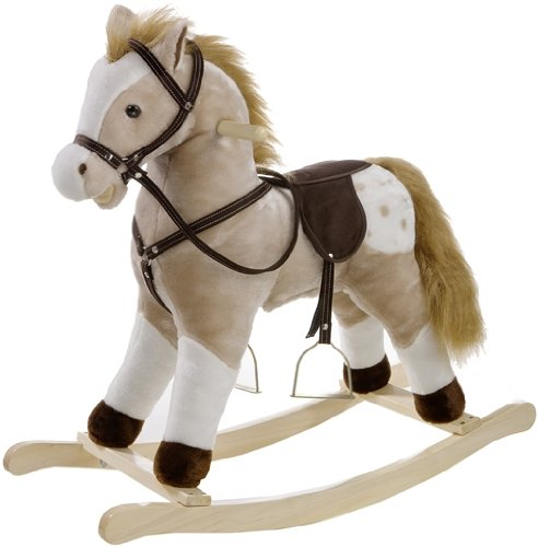Heunec Classic 725072 Rocking Horse with Sound Effects Large