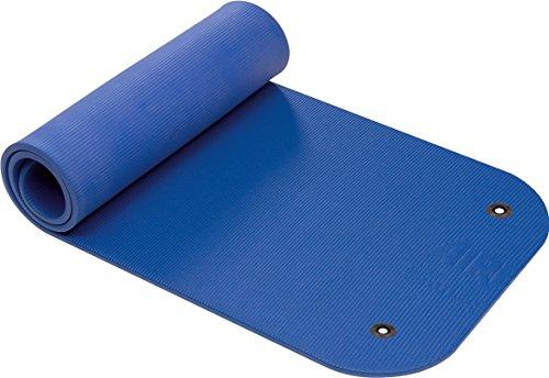 Airex Coronella - Gymnastikmatte für Fitness und Yoga (185x 60x 1,5cm), Coronella, Blau, mit Ösen, 185