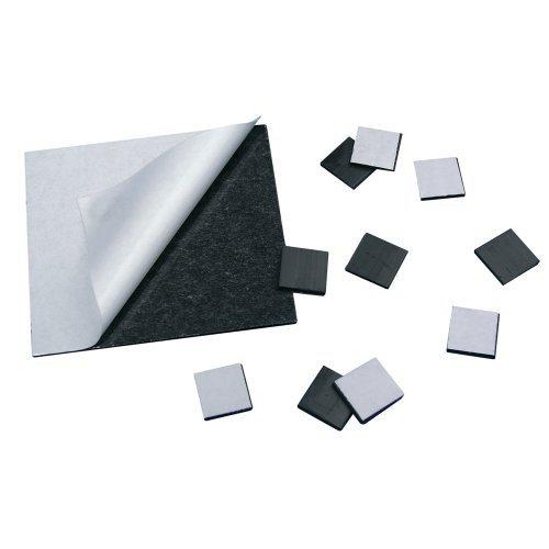 Carré magnétique adhésif de 100 carrés 0,9 mm x 20mm x 20mm - Une face adhésive et une face magnétique, la solution pour rendre magnétique tous les objets et photos