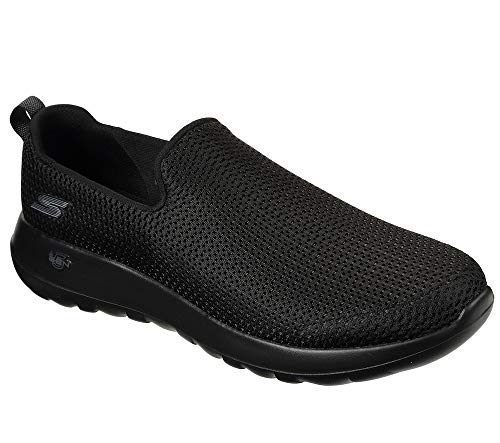 Skechers mens Go Walk Max-Athletic Air Mesh Slip on Walking Shoe,Black,9.5 EEE US