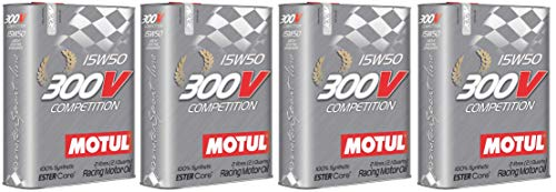 Price comparison product image Motul 300V Competition 15W50 Racing Ester Core Fully Synthetic Engine Oil,  8 Litres