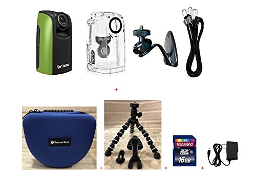 Brinno Construction Time Lapse Camera Bundle BCC100 + Smartec Camera Bag + Smartec Flexible Tripod + KIT