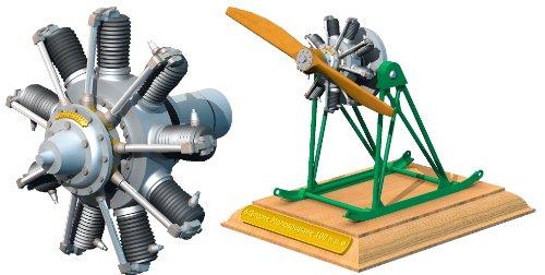 Roden 1/32 Gnome Monosoupape 9B Rotary Engine