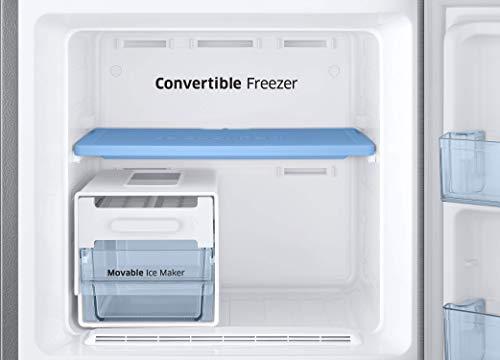 Samsung 253L 3 Star Inverter Frost Free Double Door Refrigerator (RT28T3743S8/HL, Elegant Inox, Convertible) 6