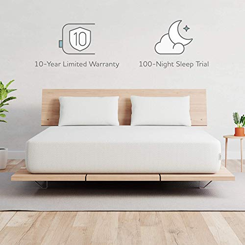 VAYA Foam-Mattress-Twin-Size | Hypoallergenic-Pure-Comfort-Mattress | Soft & Gentle Cover for Increased Airflow | CertiPUR-US Certified | Sleeps Cooler Than Memory Foam | USA | 10-Yr Warranty